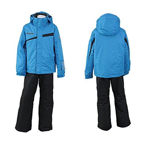 [해외]온요네 주니어 남자 스키 복 상하 세트 펫토 유형 RES78001 644X009 (TQxBK)/Onyone junior boy Ski wear upper and lower set Salopette type RES78001 644X009 (TQxBK)