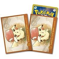 ポケモンセンターオリジナル ポケモンカードゲーム デッキシールド ぼうしをかぶったピカチュウ カロス