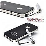 メタルスタイラスペン(タッチペン)伸縮タイプ6-8cm 新汎用静電容量式 iPad/iPhone タブレット端末専用