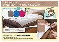 patpet ハジークプラス 専用吸水カバー (シングル・セミダブル共用, ホワイト)