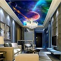 Weaeo リビングルームの3D壁の壁画の壁紙壁の装飾のカスタムサイズの風景自然の壁画キャンバスムードスター-350X250Cm