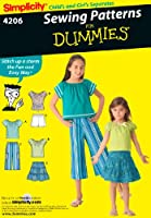 Simplicity Sewing Pattern 4206 Child/Girl Separates, HH (3-4-5-6) by Simplicity Creative Group Inc - Patterns