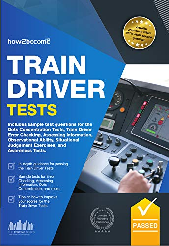 Train Driver Tests: The ULTIMATE Guide for Passing the Trainee Train