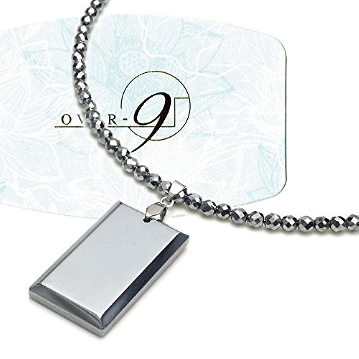 ゆるいそのような金銭的なテラヘルツ ネックレス 4mm 50cm ダイヤモンドカット スクエアペンダント付き! フック ステンレス製 本物保証 テラヘルツ鉱石 原石 パワーストーン 天然石 健康アクセサリー