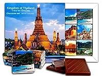 DA CHOCOLATE キャンディスーベニア タイ チョコレートギフトセット 13x13cm 1箱 (夜)