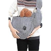 ペットスリング 犬 抱っこ紐 スリングバッグ 小型犬 犬用 ペットスリング(長さ調整可能)