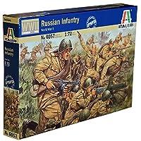 Italeri 6057 – 第二次世界大戦 1:72スケール ロシア歩兵フィギュア