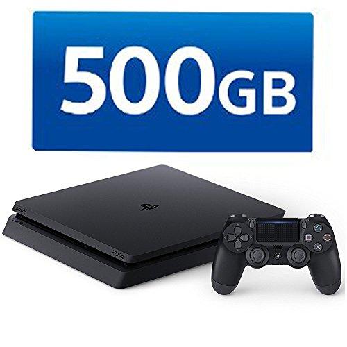 PlayStation 4 ジェット・ブラック 500GB (CUH-2100AB01)【メーカー生産終了】