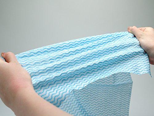 ストリックスデザイン 使いきりカウンタークロス ブルー 1パック 100枚