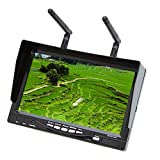 GoolRC RC732-DVR オールインワン フルセット 7in 800*480 HD LCD FPV モニター バッテリー 32CH 5.8G ワイヤレス ダイバーシティ レシーバー付