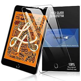 iPad mini 2019 mini 5 ガラスフィルム TopACE ipad mini5/mini 4 フィルム 高度透明 旭硝子9H 気泡防止 クラッチ防止 自動吸着 飛散防止処理 超薄0.3mm 2.5D 保護フィルム iPad mini 5 2019 対応