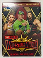 Topps 2019 WWE Road to Wrestlemania バリューボックス
