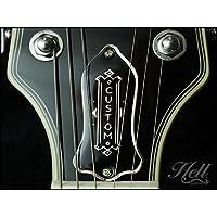 ロッドカバー Gibson/レスポール/SG/ES-335など 多機種に対応 100%真鍮&エナメル Hell Guitars オリジナルデザイン Bagatelle