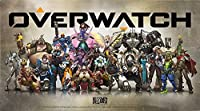 Overwatch Collectible Metal Art Plate (Small Size) [Europe Import] [並行輸入品]