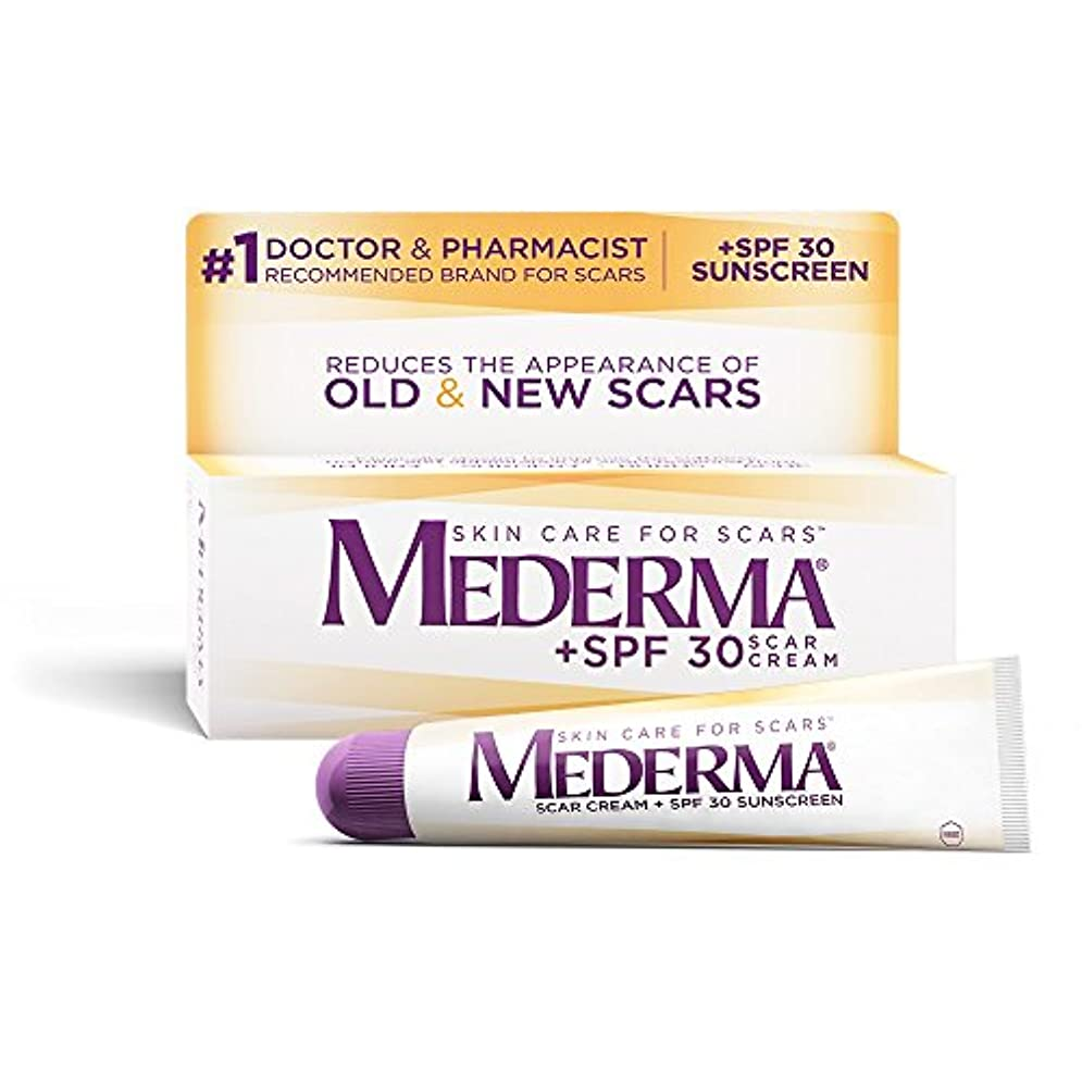 トピック本物テレビ局Mederma 社 日焼け止め成分SPF30配合 メドロマ(メデルマ) 1本 20g Mederma Scar Cream Plus SPF 30