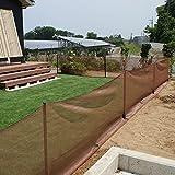 ドッグランネットセット90cm×20m[お庭にドッグランが簡単に作れる支柱とネットのセット]