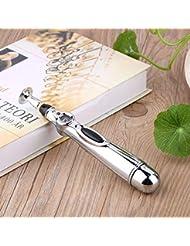 Nimoliya 電気鍼マッサージペンの健康子午線の痛みを軽減する治療電子子午線エネルギーペンのマッサージボディヘッドネック脚