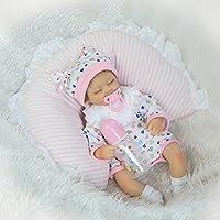Herin Sleeping赤ちゃん人形、ソフトビニール新生児幼児Reborn Dolls 16 in 42 cmシミュレーションPlay Houseおもちゃ人形Girlsクリエイティブ誕生日クリスマスギフト
