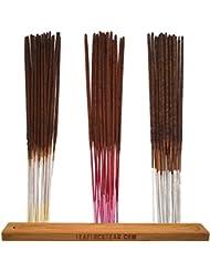 バンドル – 61アイテム – Wild Berryお香「バニラ」香りサンプラー。Includes 20 Sticks各のバニラ、チェリーバニラ、と梨バニラwith Incense Stick Burner