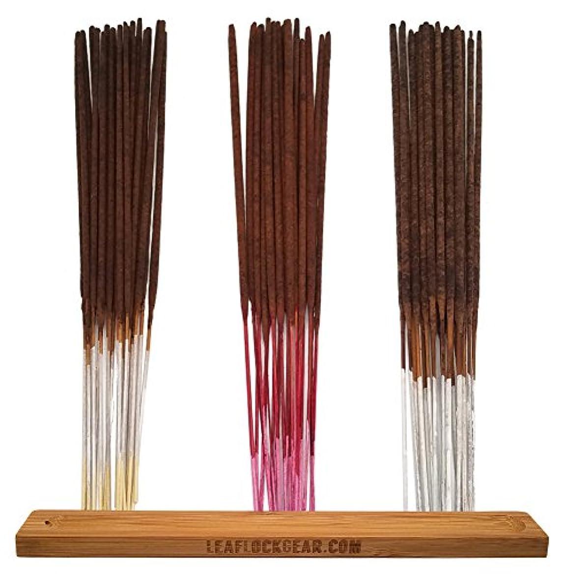 禁輸ペグ経済的バンドル – 61アイテム – Wild Berryお香「バニラ」香りサンプラー。Includes 20 Sticks各のバニラ、チェリーバニラ、と梨バニラwith Incense Stick Burner