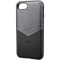 "GRAMAS COLORS""Edge"" Hybrid Shell Case for iPhone 8/7/6s/6 Black (ブラック)"