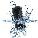 Rockpals ワイヤレススピーカー モバイルバッテリー機能付きBluetooth3.0+DER 2*5Wスピーカー 10時間音楽再生 IP65防水 4000mAhリチウム電池 通話可能 Time Keeper ブルー