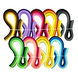 JPSOR 900枚クイリングペーパーセット 幅3mm 9色グラデーション色 手作りペーパークイリング ペーパー・クラフト ハンドメイド DIY ホビー 手芸 造花