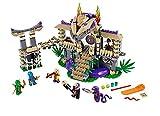 LEGO レゴ 70749 互換 ニンジャゴー風 アナコン神殿 ミニフィグ付き