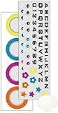 サーモス JNR用カスタマイズプレート (プレート1枚 + 台紙シール4枚 + 重ね貼りシール1枚) パーソナライズ-1 JNR Customize Plate P-1