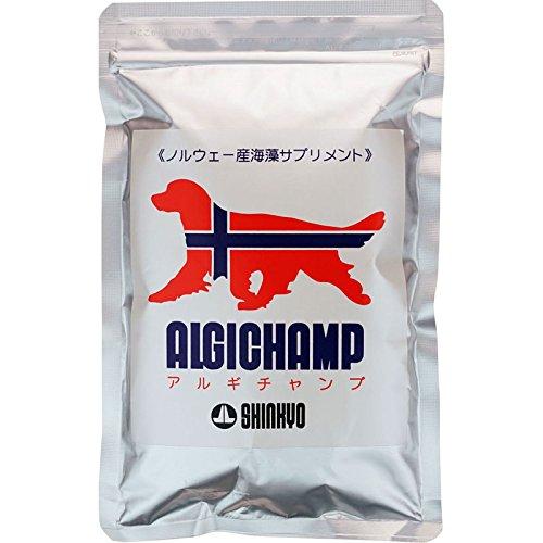 天然海藻サプリメント アルギチャンプ[ALGICHAMP] 150g 愛犬のため...