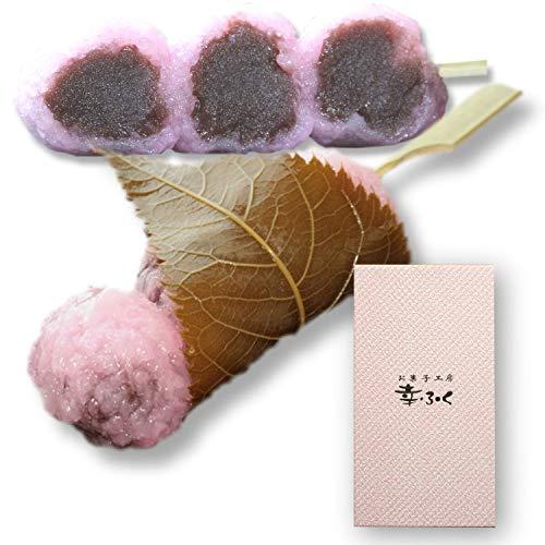 幸ふくだんご 桜もち(道明寺使用)10本ギフトセット