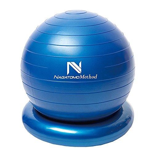 東急スポーツオアシス 長友メソッド 体幹ヨガボール Nagatomo Method TY-100 バランスボール ブルー