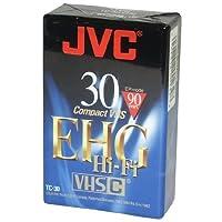 JVC TC30EHGB 30 Minute Blank VHS-C Tape [並行輸入品]