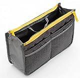 [OHAGI] 多機能 便利 整理 バッグ バッグインバッグ システムバッグ インナーバッグ 収納 ポーチ メンズ レディース + バッグハンガー 付属パッケージ