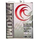 TAKUMIモーターオイル エンジンオイル 10W-60 4L 4輪ガソリン/ディーゼル車用 化学合成油 サーキットスペック