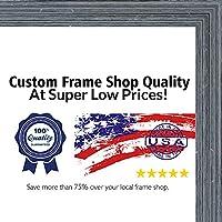 20x 40素朴な木製色画像パノラマフレーム–UVアクリル、フォームボードBacking、& Hangingハードウェア付属。