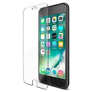 【HUBBLE】 iPhone7 ガラスフィルム 液晶保護フィルム [ 日本製素材 硬度 9H ] アイフォン7 用 強化ガラス 保護ガラス ( クリア 【005007101001】)