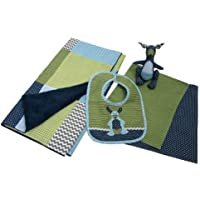 Trend Lab Perfectly Preppy Gift Set, Blue/Green, 5 Piece by Trend Lab [並行輸入品]