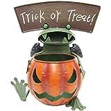 ハロウィン かぼちゃ 飾り カエル