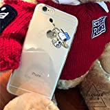 iphone6/6sケース スマホケース クリアケース 人気 キャラクター スヌーピー お揃い ペア シンプル かわいい 透明 …