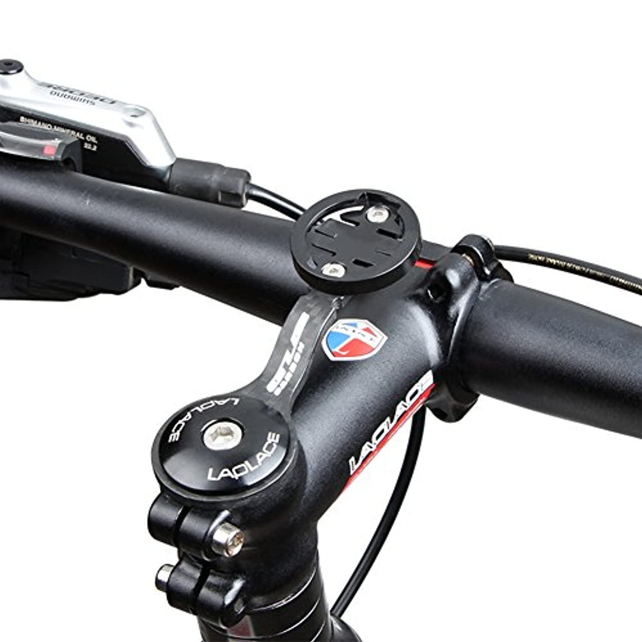 証言する作る造船Carbon Fiber Garmin Bike Mount with Carbon Finish Garmin Edge Mount Designed for Garmin Cateye Bryton Models