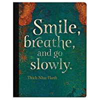 Tree-Free Greetings Smile Breathe Soft Cover 140 Page Recomposition College Ruled Notebook 9.75 x 7.25 Inches (CJ48565) [並行輸入品]