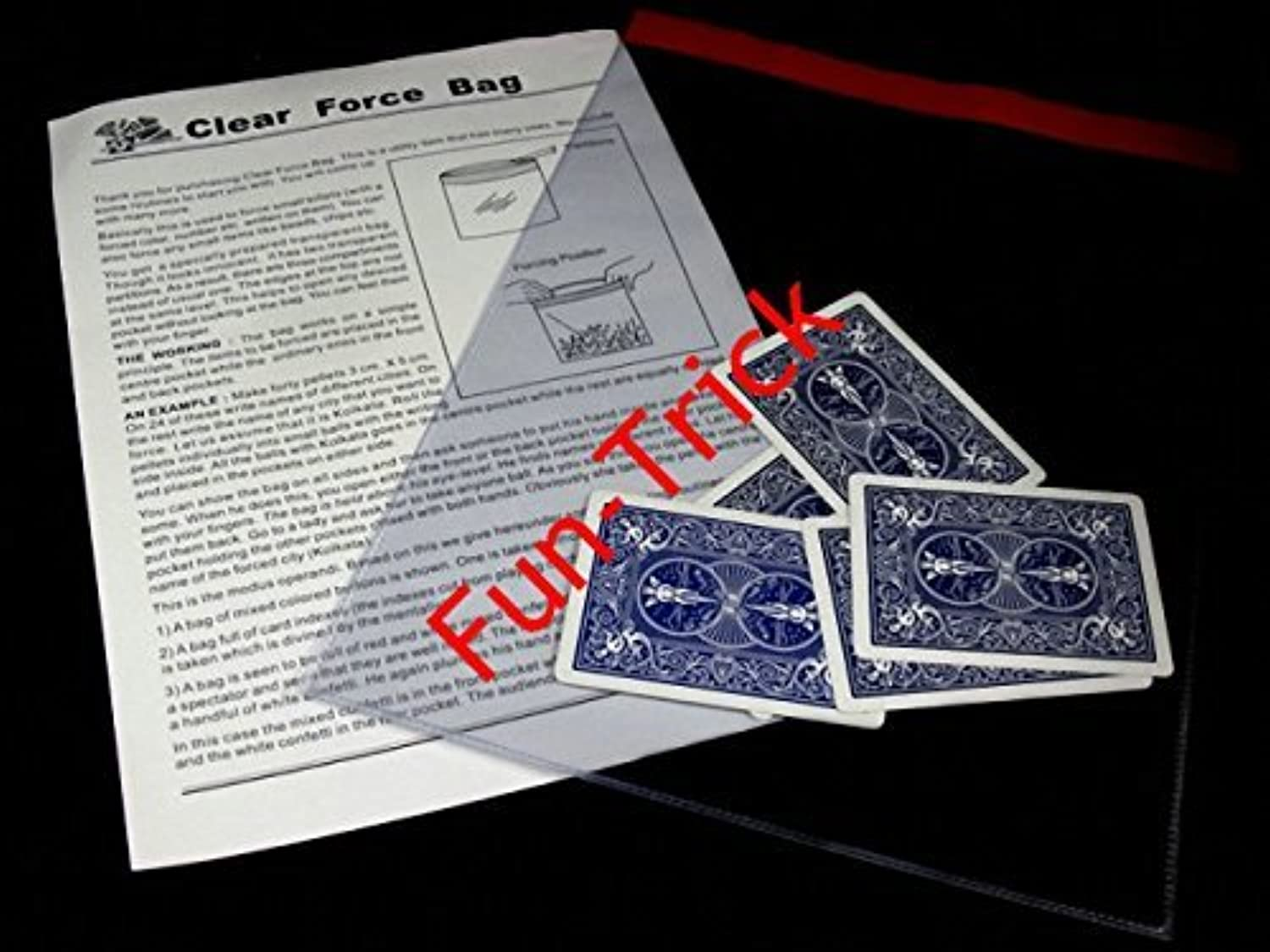 Clear Force Bag / Magic Tricks/Magic Props/Stage Magic [並行輸入品]