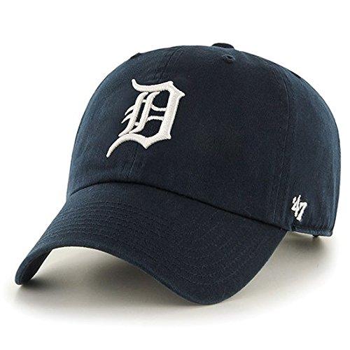 '47 Brand MLB カジュアルキャップ(CLEAN UP CAP/クリーンナップ キャップ) デトロイト・タイガース