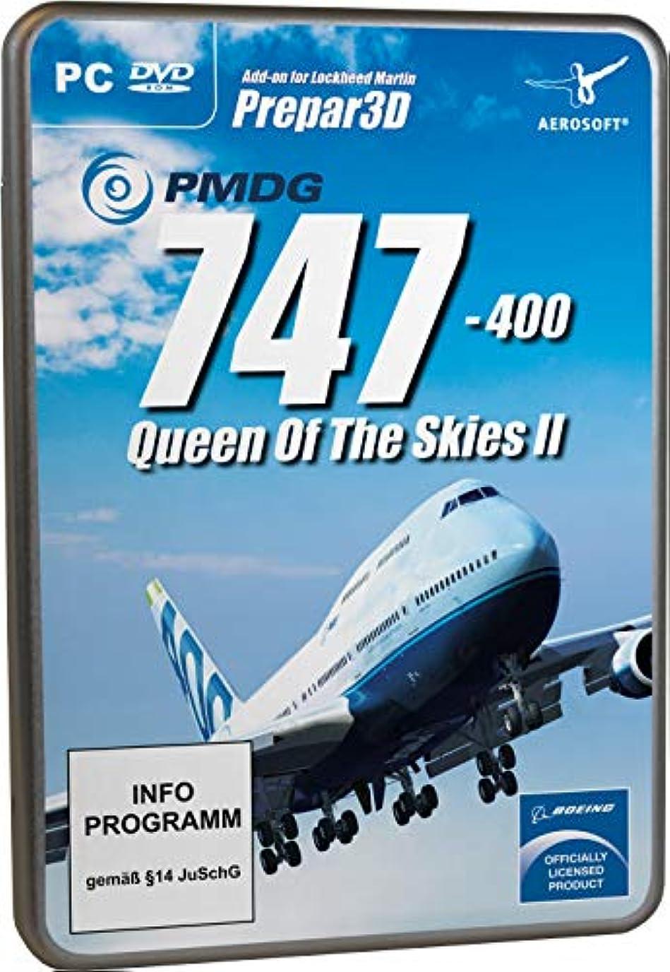 スペイン出会い評議会PMDG 747-400 V3 Queen of the Skies II for P3D V4 (輸入版)