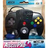 ASCII PAD64 ニンテンドー64専用コントローラ(グリメット)