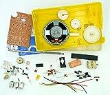 DIY 自作 AM FM 高感度 BS618 スーパー ラジオ 受信機 IC 使用 製作 キット 中型 単一 電池 使用