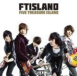 FIVE TREASURE ISLAND(初回限定盤A)(DVD付) 画像
