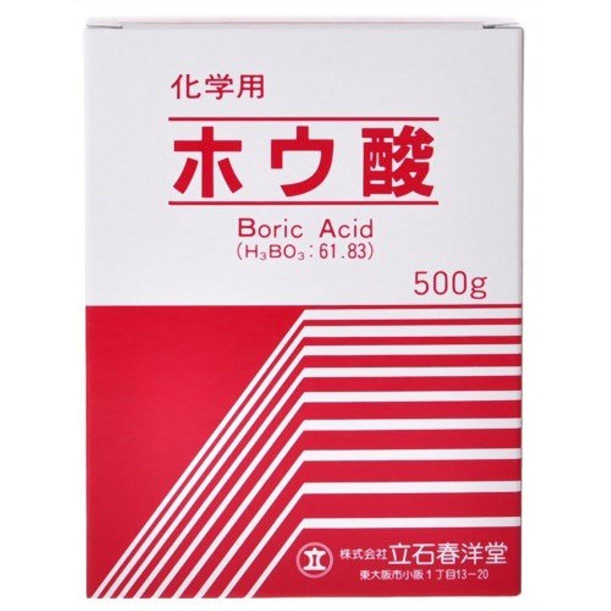 ルネッサンスクリープ巨大なホウ酸 粉末 化学用 500g