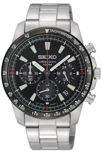[セイコー]SEIKO 腕時計 クロノグラフ 逆輸入 海外モ...